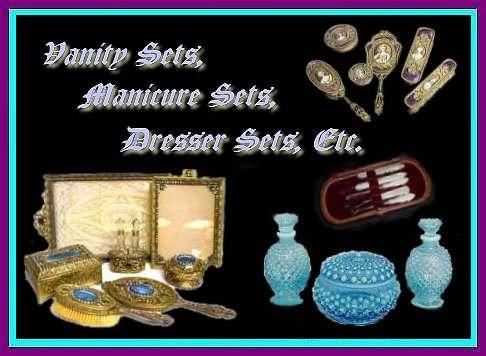 Miladys Vanity Vanity Sets Manicure Sets Dresser Sets Brushes