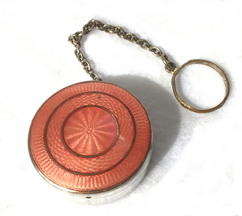 Enamel Guilloche Compact